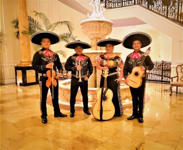 Mariachi dinastia mexicana de utah grupo de 4 músicos